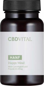 CBD-Vital Happy Mind Kapseln Verpackung