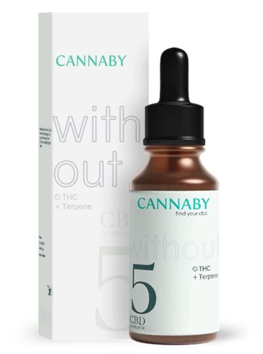 Cannaby Without CBD Öl Test